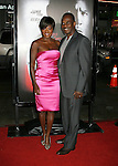 "HOLLYWOOD, CA. - October 06: Viola Davis and Julius Tennon arrive at the Los Angeles premiere of ""Law Abiding Citizen"" at Grauman's Chinese Theatre on October 6, 2009 in Hollywood, California."