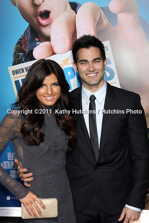"""LOS ANGELES - FEB 23:  Rachele Brooke Smith, Tyler Hoechlin arrives at the """"Hall Pass"""" Premiere at ArcLight Theaters on February 23, 2011 in Los Angeles, CA"""