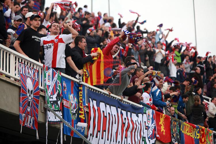 FC Barcelona B vs SD Huesca: 0-1 - LFP League Adelante 2012/13 - Game: 28