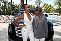 LeToya Luckett and Spike Lee attend the ABFF kick off luncheon hosted by Cadillac on June 14, 2017 in South Beach Miami.