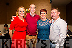 Staff from ViClarity, Kerry Technology Park, enjoying a night out on Saturday night at Darcys . Front l-r Kathleen Sheehy and Ogie Sheehy. Back l-r  Elish Dowling and Edward Dowling.