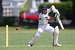 NELSON, NEW ZEALAND - DECEMBER 2: Wakatu v Nelson College Premier Cricket at Victory Square on December 2 2017 in Nelson, New Zealand. (Photo by: Evan Barnes Shuttersport Limited)