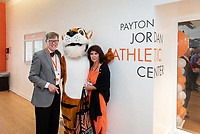 Dedication of the Payton Jordan Athletic Center and Tiger Club Reception in the Payton Jordan Athletics Center, Saturday, June 22.<br />