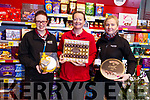 Twohigs Supervalu in Abbeyfeale preparing for their December Food Fair.<br /> L-r, Trish Collins (Fresh Food Manager), Ann O'Connor (Retail Assistant) and Ramune Ziliene (Store Manager).