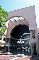 Pasadena CA: Pasadena Mall--Colorado Ave., entrance. Photo '84.