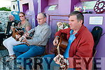 Ballybunion Pattern Day: Playing music at the revival of the Ballybunion Pattern Day at Ahafona Cross on Monday evening last were Richard Casey, Betty Joyce, Tom Fitzgerald & Danny Carroll.