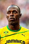Engeland, London, 4 Augustus 2012.Olympische Spelen London.Finale 100 meter Mannen .Usain Bolt uit Jamaica