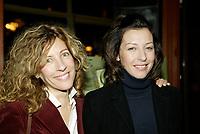 Montreal (Qc) CANADA - December 2007 file photo-<br /> Sophie Lorrain (L),Ren&eacute;e-Claude Brazeau,(R)<br /> launch of La galere (TV) DVD.<br /> Alliance Vivafilm, Productions RCB inc.,et Cirrus ont lanc&eacute; mercredi 5 d&eacute;cembre le coffret DVD de la premiZre saison de la s&eacute;rie &laquo; La GalZre C, diffus&eacute;e sur les ondes de Radio-Canada. Ont particip&eacute; ? ce lancement : lOauteure Ren&eacute;e-Claude Brazeau, la r&eacute;alisatrice Sophie Lorain, et la plupart des com&eacute;diennes et com&eacute;diens dont Anne Casabonne, H&eacute;lZne Florent, Brigitte Lafleur et GeneviZvre Rochette.<br /> <br /> photo (c) Pierre Roussel- Images Distribution