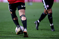Unusual design of socks for Brentford's Sergi Canos during Brentford vs Oxford United, Emirates FA Cup Football at Griffin Park on 5th January 2019