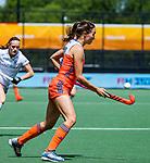Den Bosch  -  Ginella Zerbo (Ned)  tijdens  de Pro League hockeywedstrijd dames, Nederland-Belgie (2-0).     COPYRIGHT KOEN SUYK