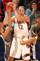 9 November 2006: Christy Titchenal during Stanford's 88-61 win in the first round of the preseason Women's National Invitation Tournament against Loyola Marymount at Maples Pavilion in Stanford, CA.