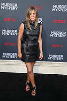 LOS ANGELES, CA - JUNE 10: Jennifer Aniston at the Los Angeles Premiere Screening of Murder Mystery at Regency Village Theatre in Los Angeles, California on June 10, 2019. <br /> CAP/MPIFS<br /> ©MPIFS/Capital Pictures