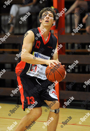 2012-08-15 / Basketbal / seizoen 2012-2013 / BBC Willebroek / Glenn Lauwers..Foto: Mpics.be