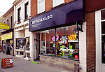 Opticianado vintage and fine eyewear store at the Junction neighbourhood in Toronto, Canada