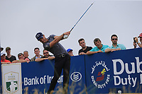 Danny Willett (ENG) tees off the 2nd tee during Saturday's Round 3 of the 2018 Dubai Duty Free Irish Open, held at Ballyliffin Golf Club, Ireland. 7th July 2018.<br /> Picture: Eoin Clarke | Golffile<br /> <br /> <br /> All photos usage must carry mandatory copyright credit (&copy; Golffile | Eoin Clarke)