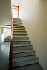 Tatami Stair Risers in Chartreuse honed and pillowed