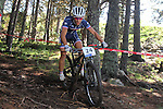 05.09.2015 La Massana Andorra. 201 UCI Mountain Bike World Champions.Picture show Drechou Hugo(FRA) in action during Men ELite Cross-country Olympic World Champions