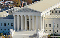 The US Supreme Court can be seen from the recently restored US Capitol dome, November 15, 2016 in Washington, DC.<br /> Credit: Olivier Douliery / Pool via CNP /MediaPunch
