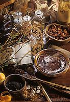 """Europe/France/Auvergne/43/Haute-Loire/Moudeyres: Pudding flamand aux épices, recette de Carlos Grootaert du restaurant """"Le Pré Bossu"""","""