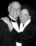 Valerie Harper and Gavin McLeod.attending the Opening night performance of FORUM at the St. James Theatre inNew York City..April 18, 1996.