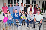 Rachel Cremin, Gneeveguilla who celebrated her 21st birthday with her family and friends in the Killarney Heights Hotel on Saturday night front row l-r: Emily Walsh, Linda and Daniel Shanahan, Christopher Lane, Rachel Cremin, Cian Lane, Margaret Lane, Paddy Lane. Back row: Matthew O'Riordan, Padraig Lane, John Shanahan, Matthew O'Riordan, Judy Lane, Karen Lane and Mondo Walsh
