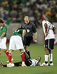1 March 2006: . The National Team of Mexico defeated the National Team of Ghana 1-0 at Pizza Hut Park in Frisco, Texas in an International Friendly soccer match.