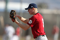 January 17, 2010:  Raymond Harron (Roanoke, VA) of the Baseball Factory East Team during the 2010 Under Armour Pre-Season All-America Tournament at Kino Sports Complex in Tucson, AZ.  Photo By Mike Janes/Four Seam Images