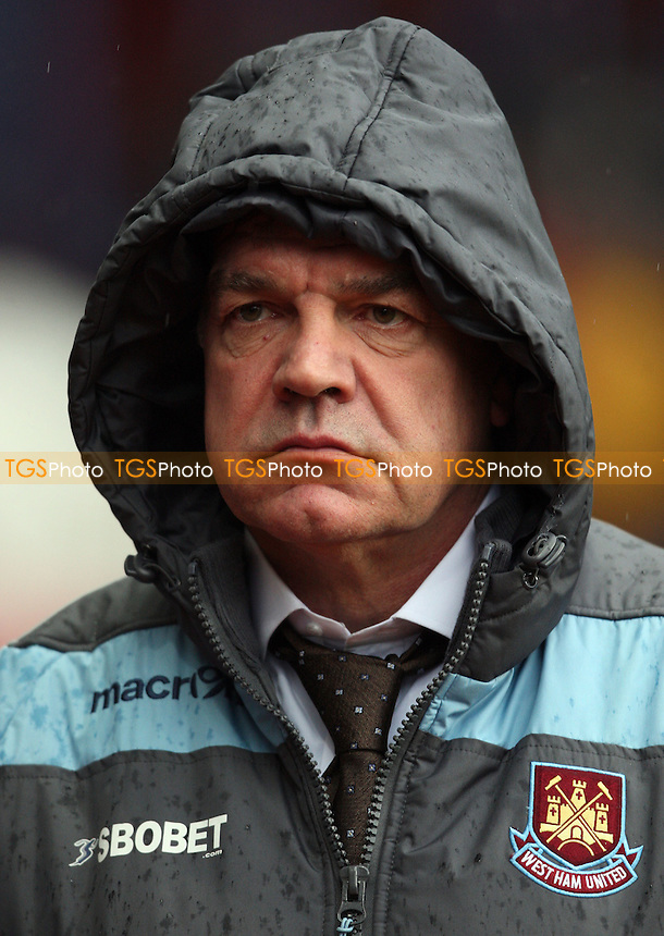 West Ham manager Sam Allardyce - Aston Villa vs West Ham United, Barclays Premier League at Villa Park - 10/02/13 - MANDATORY CREDIT: Rob Newell/TGSPHOTO - Self billing applies where appropriate - 0845 094 6026 - contact@tgsphoto.co.uk - NO UNPAID USE.