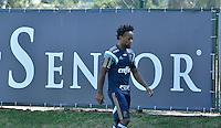 SÃO PAULO.SP. 02.04.2015 - PALMEIRAS TREINO - Ze Roberto lateral do Palmeiras durante o treino na Academia de Futebol zona oeste na nesta quinta feira 02.  ( Foto: Bruno Ulivieri / Brazil Photo Press )