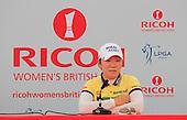 2013 Ricoh Women's British Open Wednesday Practice