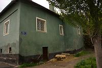 House in the rural town of Bünyan, Kayseri, Turkey