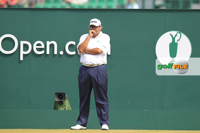 Angel CABRERA (ARG) during round 4 of  The 142th Open Championship Muirfield, Gullane, East Lothian, Scotland 21/7/2013<br /> Picture Eoin Clarke www.golffile.ie: