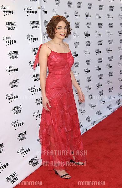Actress RACHEL ROTH at the 2002 GLAAD (Gay & Lesbian Alliance Against Defamation) Awards at the Kodak Theatre, Hollywood. .13APR2002.  © Paul Smith / Featureflash