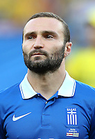 Dimitrios Salpingidis of Greece
