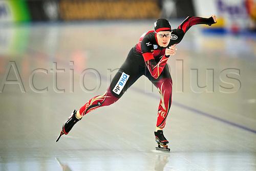 05.03.2016. Berlin Germany. World Championships of Speed skating.  3000  Women Roxanne Dufter ger