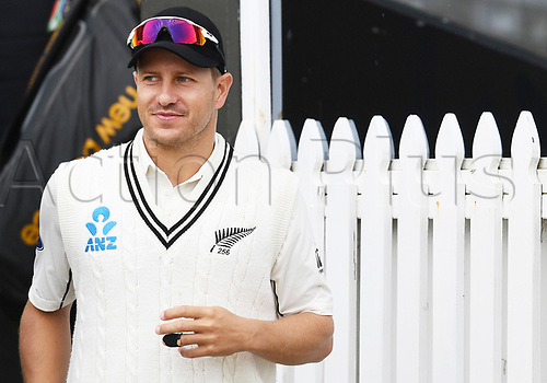 March 18th 2017, Basin Reserve, Wellington New Zealand; International Cricket; 3rd Day, 2nd Test; New Zealand versus South Africa;  Neil Wagner on Day 3 of the 2nd test match