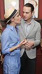 Cobie Smulders and Jordan Roth attend the Sardi's Caricature Unveiling for Kate Burton joining the Legendary Wall of Fame at Sardi's on June 28, 2017 in New York City.