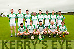 Ballyduff Team: Front: Thomas slattery, Eddie Joy, Sean Brow, Padraig Hyssey & Padraig Slattery. Bcak : Evan Doyle, Sean Costello, Anthony Carroll, JP Enright, Paddy Moran, John Regan, Mike Hussey, James Sheehy & missing from photo John Paul Leahy.