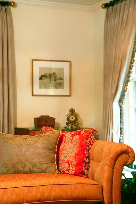 Living Room Detail, Residence, Upstate New York