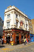 The Crown Pub - Seven Dials - Covent Garden London