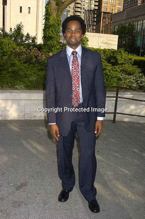 Harrold Perrineau of Lost ..at The ABC Upfront Announcement of Their Fall Schedule on May 17, 2005 at Lincoln Center...Photo by Robin Platzer, Twin Images