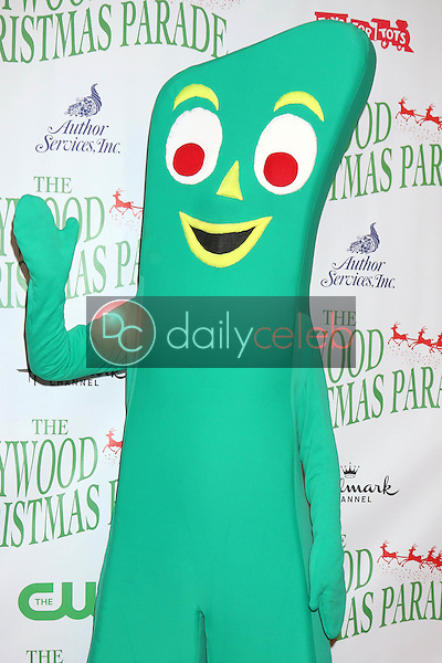 Gumby<br /> at the 85th Annual Hollywood Christmas Parade, Hollywood Boulevard, Hollywood, CA 11-27-16<br /> David Edwards/DailyCeleb.com 818-249-4998
