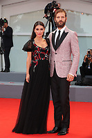 Roberta Pitrone and Alessandro Borghi arrive at the Award Ceremony of the 74th Venice Film Festival at Sala Grande on September 9, 2017 in Venice, Italy. <br /> CAP/GOL<br /> &copy;GOL/Capital Pictures