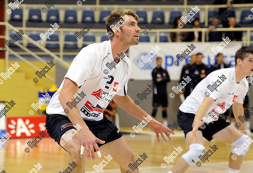 2012-09-21 / Volleybal / seizoen 2012-2013 / Topvolley Antwerpen / Mads Hartmann DITLEVSEN..Foto: Mpics.be