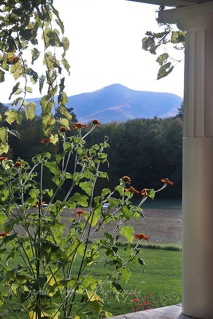 View of Mount Ascutney from Saint-Gaudens Estate, Cornish, NH