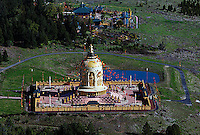aerial photograph Odiyan Buddhist Retreat Center Sonoma County, California