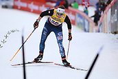 7th January 2018, Val di Fiemme, Fiemme Valley, Italy; FIS Cross Country World Cup, Tour de ski; Ladies 9km F Pursuit; Rosie Brennan (USA)