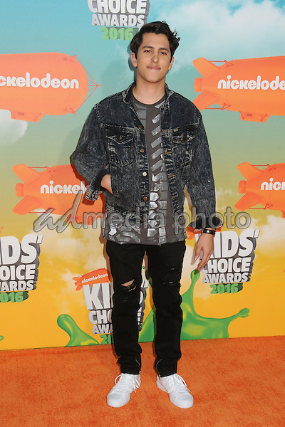 12 March 2016 - Inglewood, California - Chris Gonzalez. 2016 Nickelodeon Kids' Choice Awards held at The Forum. Photo Credit: Byron Purvis/AdMedia
