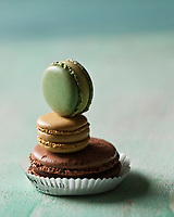 Europe/France/Ile-de-France/75/Paris:   Macarons Pierre Hermé - Stylisme : Valérie LHOMME