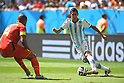 Angel di Maria (ARG), JULY 5, 2014 - Football / Soccer : FIFA World Cup Brazil 2014 Quarter-finals match between Argentina 1-0 Belgium at Estadio Nacional in Brasilia, Brazil. (Photo by FAR EAST PRESS/AFLO)
